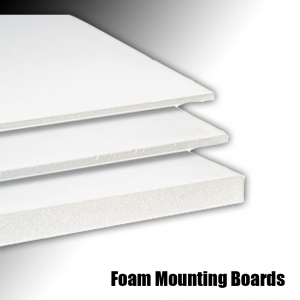 Foam Mounting Boards