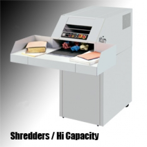 High Capacity Shredders