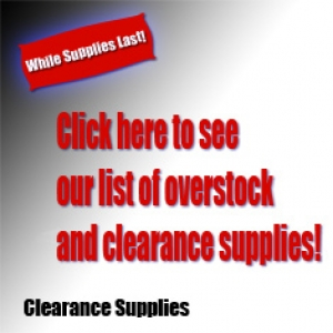 Clearance Supplies