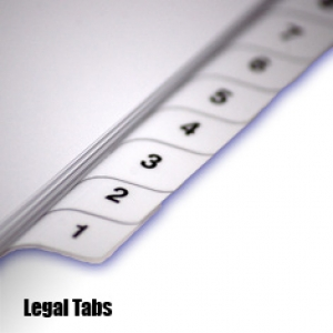 Pre-Printed Legal Tabs / Allstate or Avery Format
