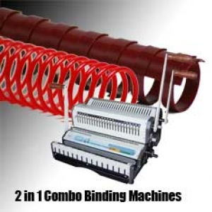 2-IN-1 Combo Binding Machines
