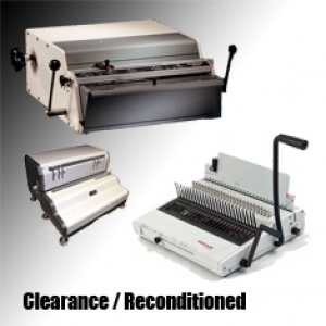 Clearance/Reconditioned Binding Machines