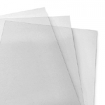 "8-3/4"" x 11-1/4"" Clear Covers - 10 Mil - 100 / Pack"