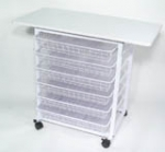 "Akiles Work Station - 18""W x 35.5""L x 31.5""H"
