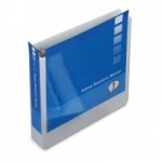 "1-1/2"" D-Ring GBC Standard Clear View® 3-Ring Binder - 12 / Pack - 8313016"
