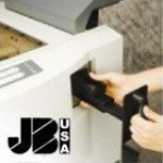 JBI DocuPunch 2.5:1 Oval Die for Plastic Coil