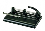 Martin Yale® Master® 1325B Adjustable 3-Hole Manual Paper Punch