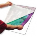 "18"" x 25"" Laminating Pouch Board - White - 10 / Pack"